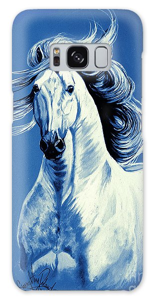 Blue Attitude Galaxy Case by Cheryl Poland