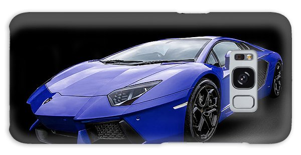Blue Aventador Galaxy Case