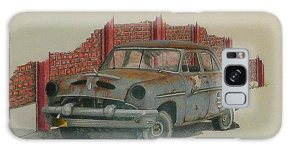 Old Truck Galaxy Case - Blue Baby by Lew Davis