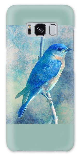 Blue Bird Blue Sky Galaxy Case