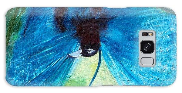Blue Bird Of Paradise Galaxy Case