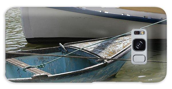Blue Boat Camargue Galaxy Case by Phoenix De Vries