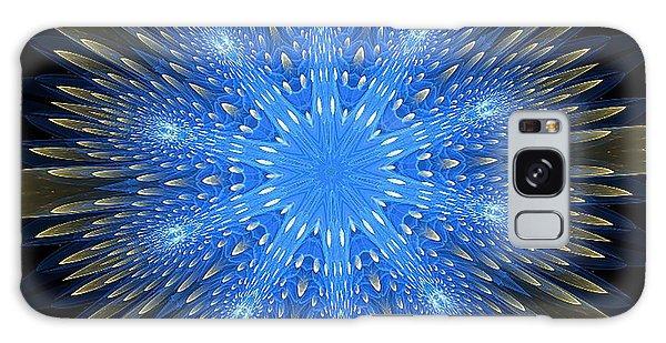 Blue Boldness Mandala Galaxy Case
