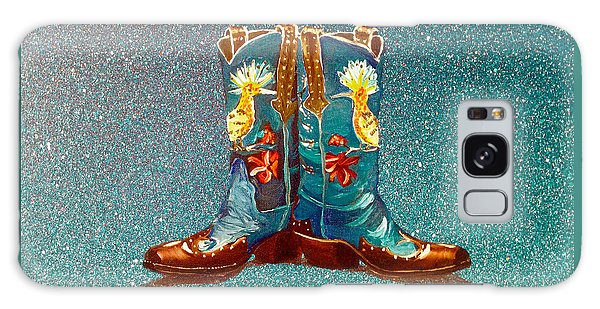 Blue Boots Galaxy Case