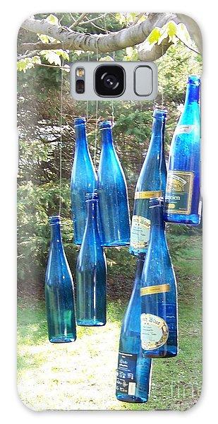 Blue Bottle Tree Galaxy Case by Jackie Mueller-Jones