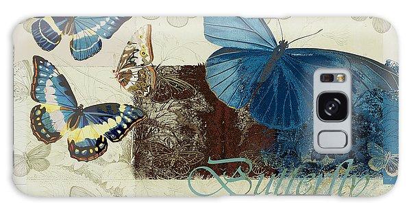 Blue Butterfly - J152164152-01 Galaxy Case