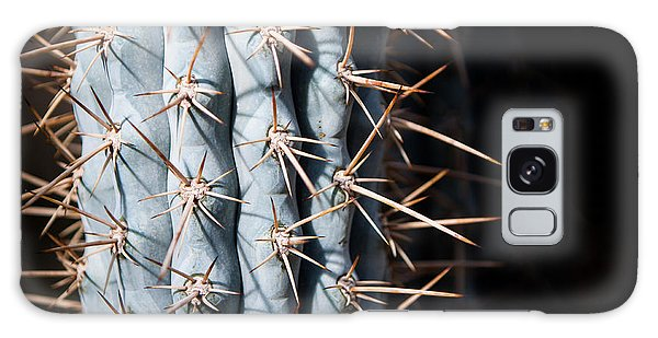 Blue Cactus Galaxy Case