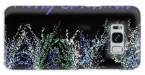 Blue Christmas Galaxy Case by Darren Robinson
