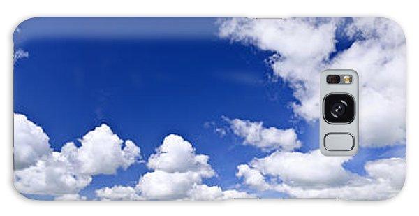 Cloudscape Galaxy Case - Blue Cloudy Sky Panorama by Elena Elisseeva