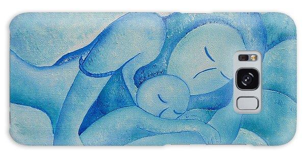 Blue Co Sleeping Galaxy Case