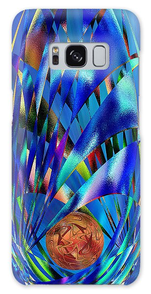 Blue Cosmic Egg - Abstract Galaxy Case