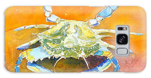 Blue Crab Galaxy Case by Anne Marie Brown