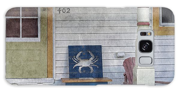 Blue Crab Chair Galaxy Case