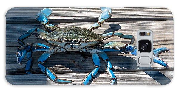 Blue Crab Pincher Galaxy Case