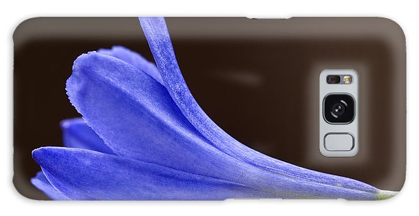 Blue Curve Galaxy Case by Trevor Chriss