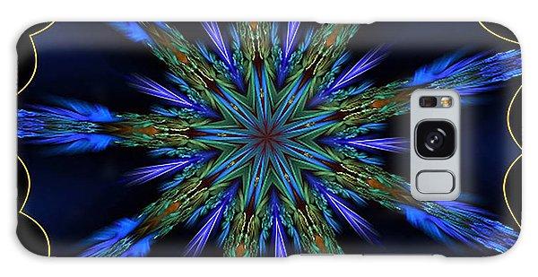 Blue Danube Kaleidoscope Galaxy Case
