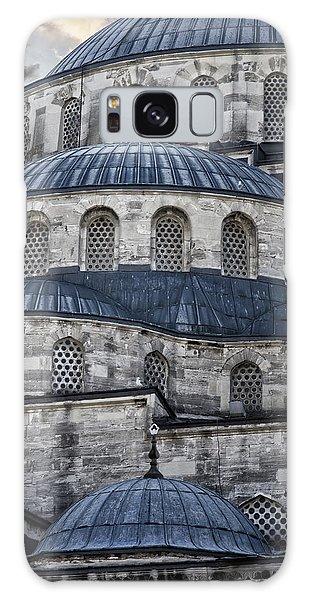 Blue Dawn Blue Mosque Galaxy Case