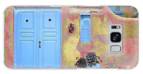 Blue Door In Ranchos Galaxy Case