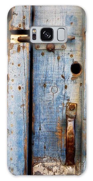 Blue Door Weathered To Perfection Galaxy Case