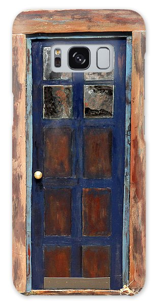Blue Door Wyoming Galaxy Case