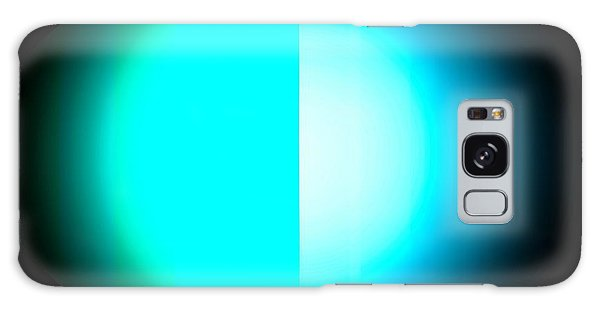 Blue Eclipse Galaxy Case