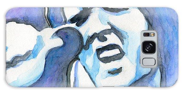 Blue Elvis Galaxy Case