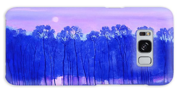 Blue Enchantment Galaxy Case