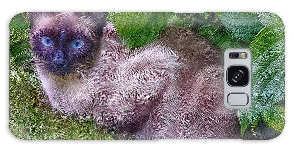 Blue Eyes - Signed Galaxy Case by Hanny Heim