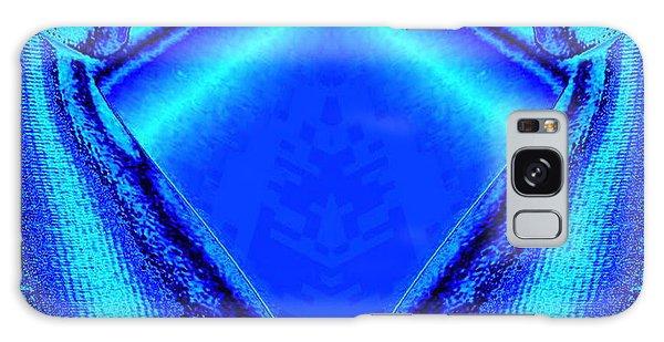 Blue Fabric Galaxy Case
