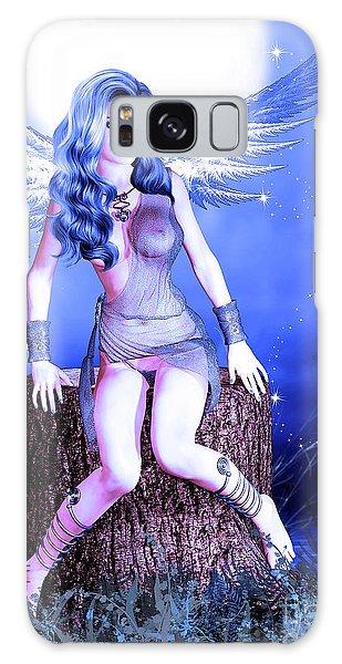 Blue Fairy Galaxy Case