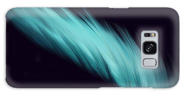 Blue Feather Galaxy Case