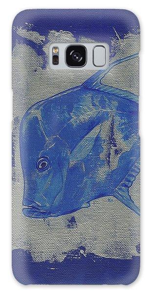 Blue Fish Galaxy Case