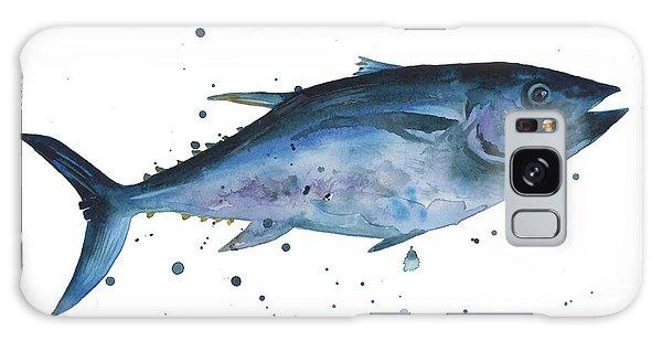 Fish Galaxy S8 Case - Blue Flash Tuna by Alison Fennell