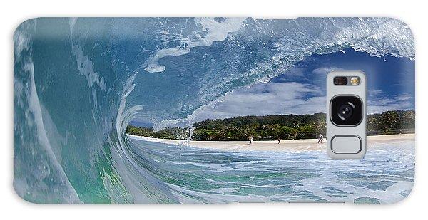 Water Ocean Galaxy Case - Blue Foam by Sean Davey