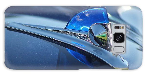 Blue Ford Hood Ornament Galaxy Case