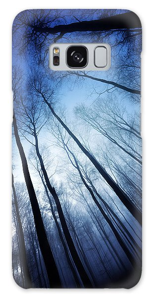 Blue Forest Galaxy Case by Philippe Sainte-Laudy