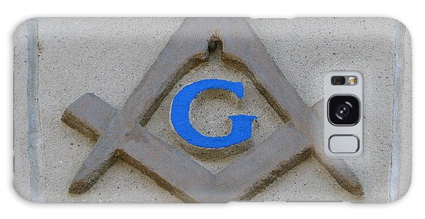 Blue G Galaxy Case by Michael Krek
