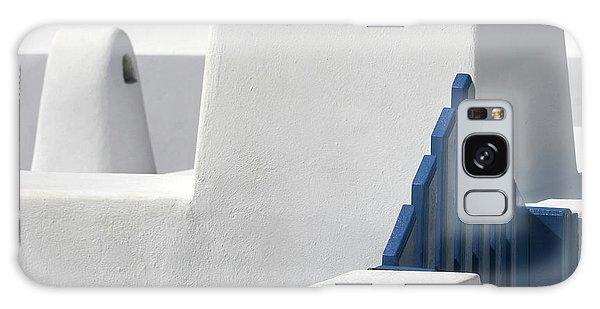 School Galaxy Case - Blue Gate by Hans-wolfgang Hawerkamp