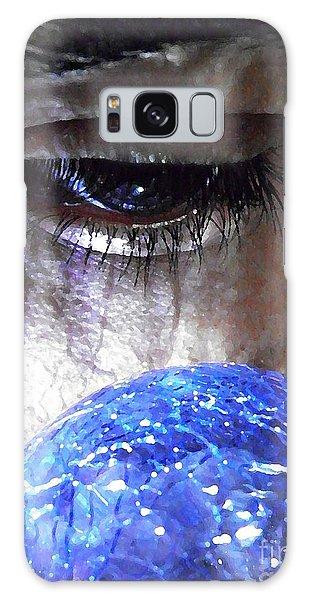 Blue Glass World Galaxy Case
