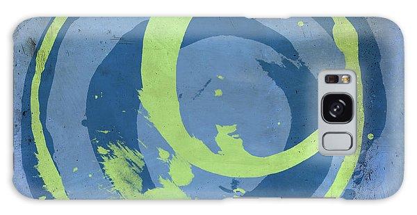 Blue Green 7 Galaxy Case