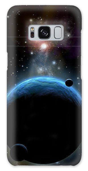 Blue Group Galaxy Case