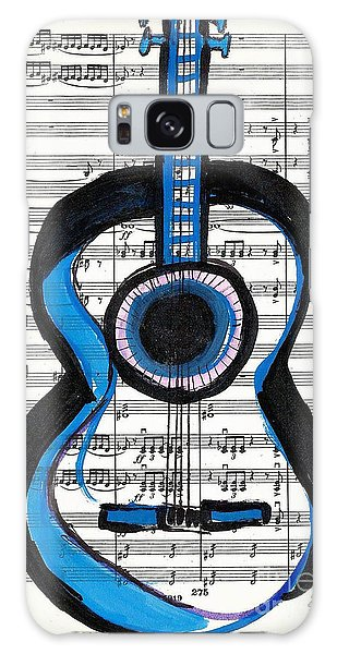 Blue Guitar Music Galaxy Case