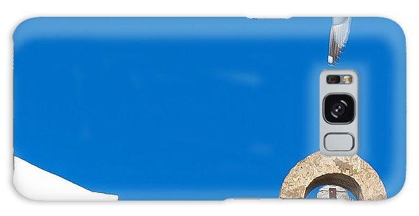 Blue Gull Galaxy Case