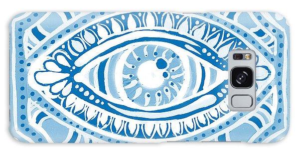 Blue Gypsis Eye Galaxy Case