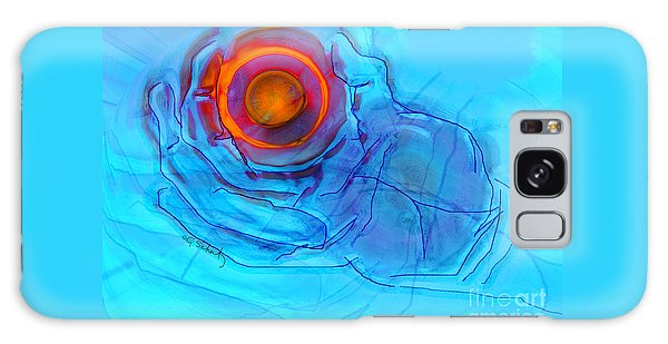 Blue Hand Galaxy Case by Gabrielle Schertz