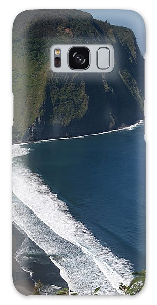 Blue Hawaii Galaxy Case