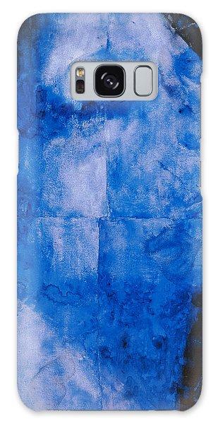 Indian Head Galaxy Case - Blue Head by Graham Dean
