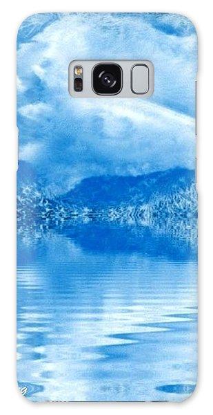 Blue Healing Galaxy Case