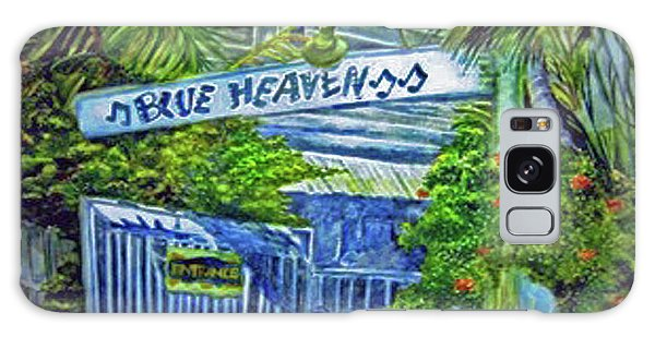 Blue Heaven Key West Galaxy Case