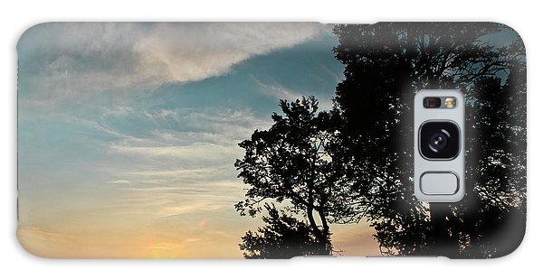 Blue Heaven Sunset Galaxy Case